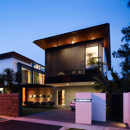 Stunning contemporary house design malaysia images for Minimalist house design in malaysia
