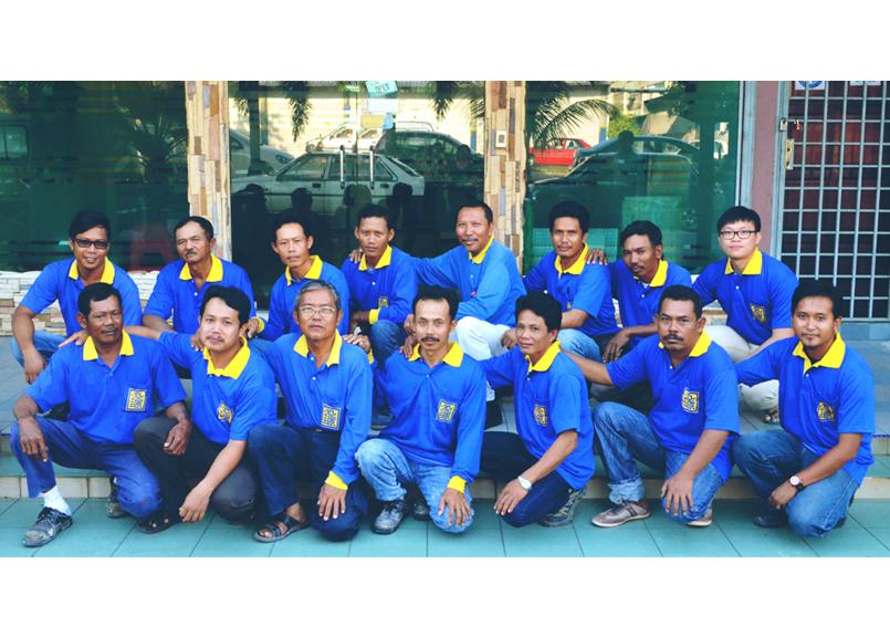 Kim Guan Construction Team
